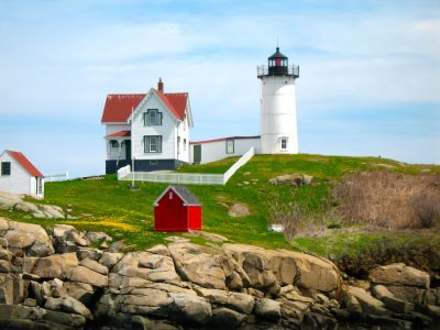 Maine photo by Barbara Delinsky as inspiration for writing Sweet Salt Air